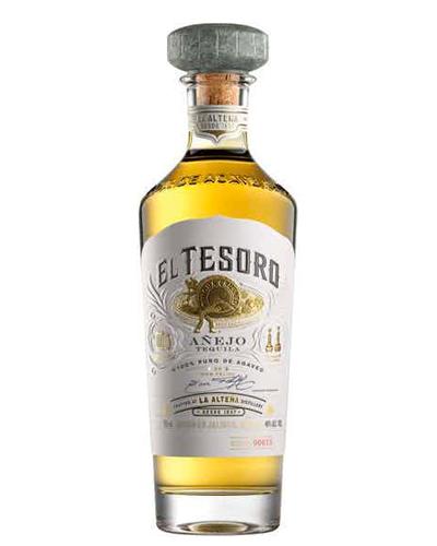 best tequila 2020 - el tesoro tequila