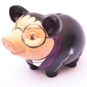 adult piggy banks etsy harry potter
