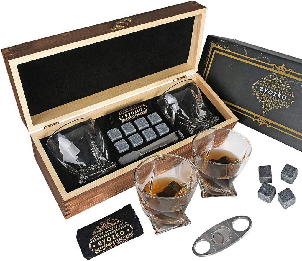 Eyozka Whiskey Glass Set Gift Box