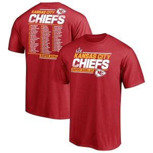 Kansas City Chiefs super bowl t-shirt