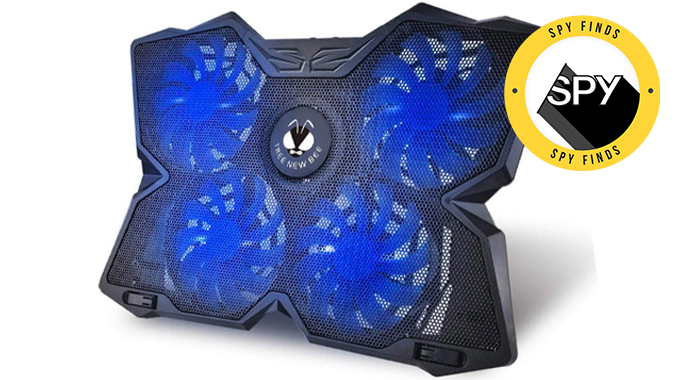 this 22 cooling pad will help your gaming laptop take the heat spy this 22 cooling pad will make sure your gaming laptop can take the heat