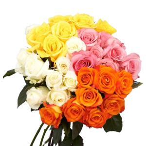 flower delivery online globalrose fresh assortment roses the home depot