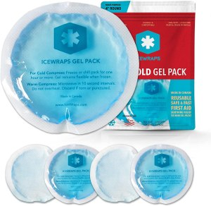 ICEWRAPS reusable gel ice packs, how to get rid of a blackeye