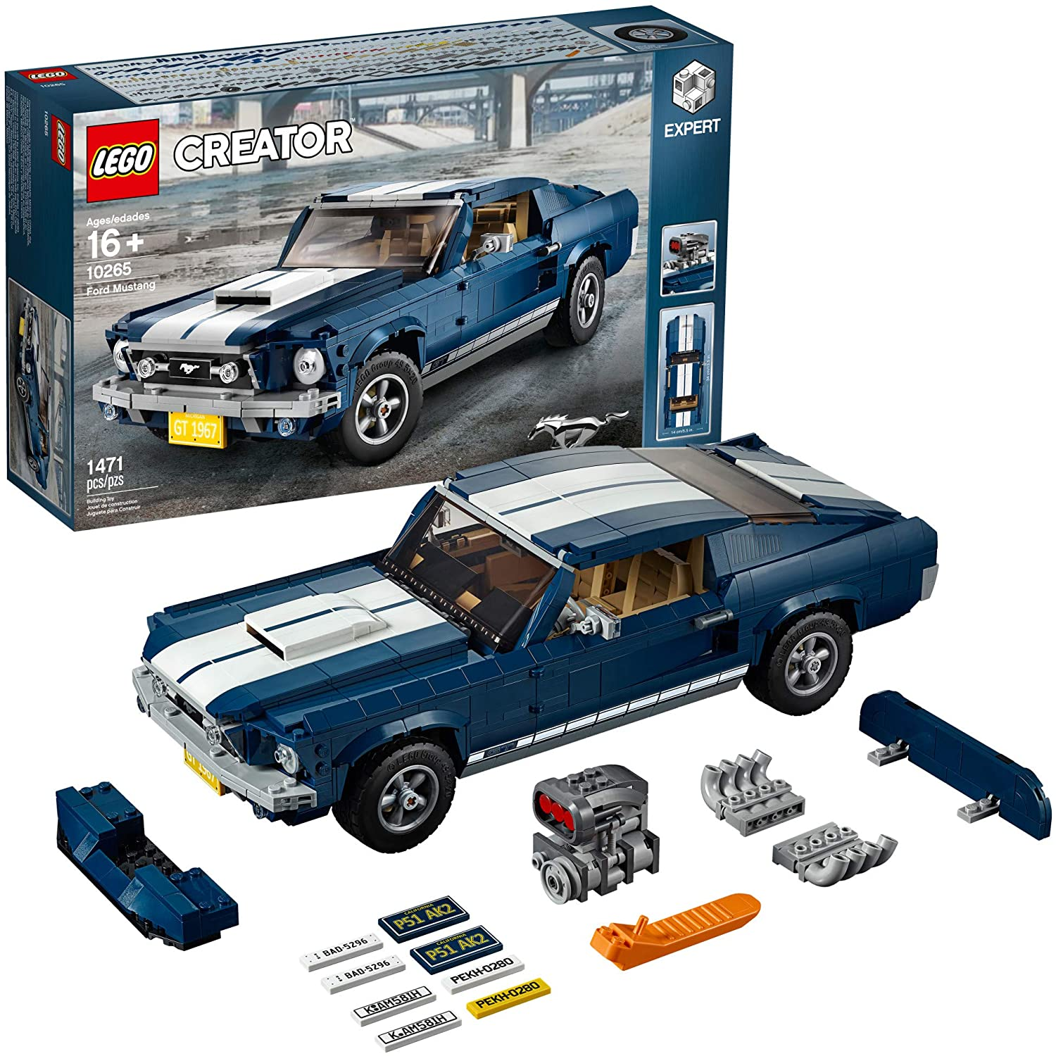 best legos for adults creator expert ford mustang