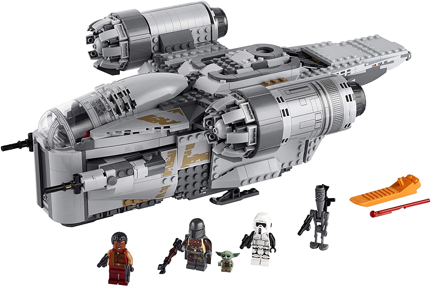best legos for adults - LEGO Star Wars: The Mandalorian Building Kit