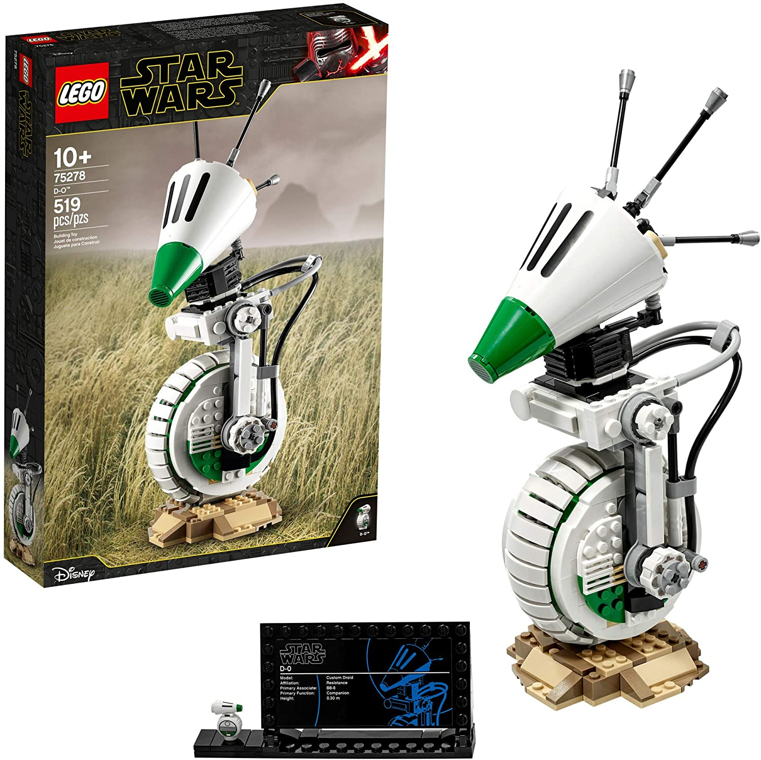 best legos for adults - LEGO Star Wars: D-O Building Kit