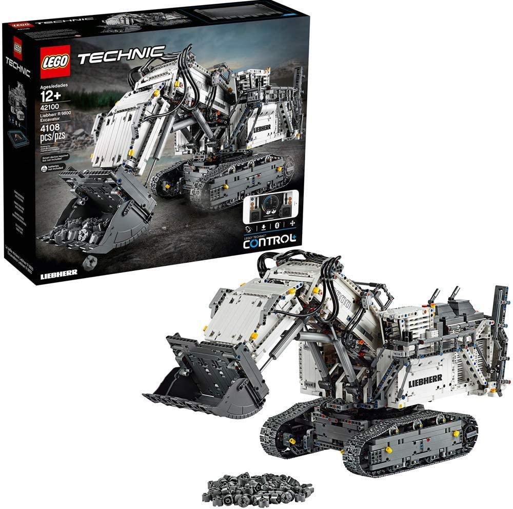 best legos for adults technic liebherr excavator building kit