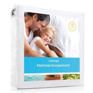 best bed bug mattress covers linespa zippered encasement