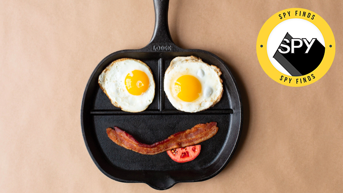 lodge cast iron breakfast griddle