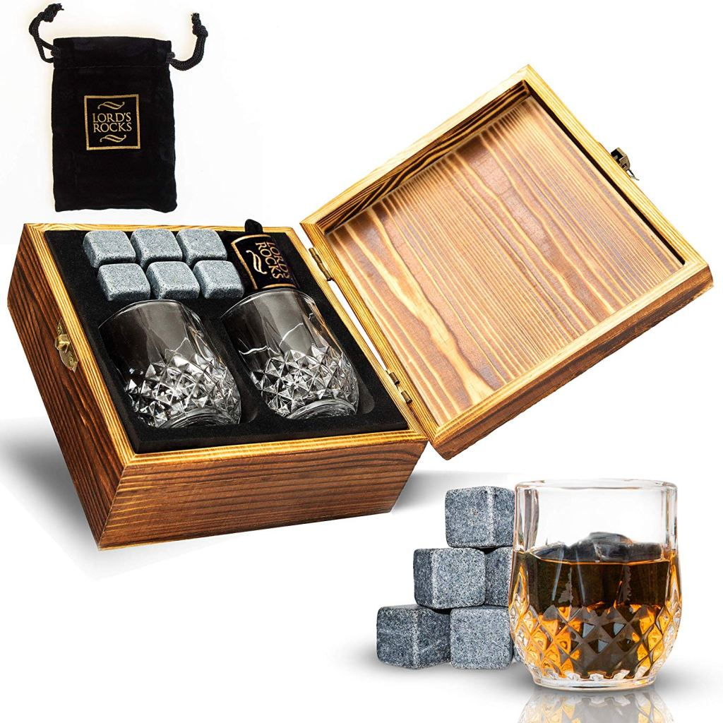 Lord's Rocks Whiskey Stones Gift Set