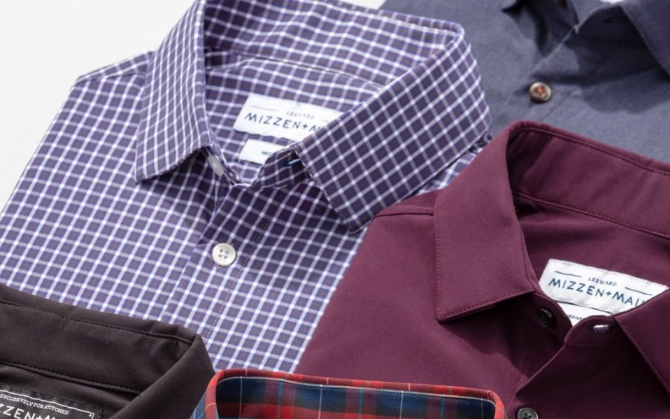 mizzen and maine dress shirts for