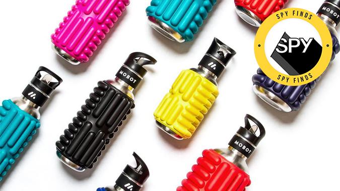 mobot foam roller water bottle