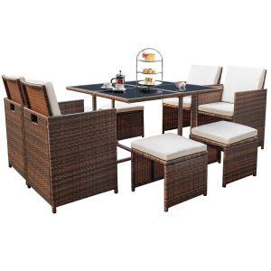 Devoko Multipurpose Outdoor Dining Set