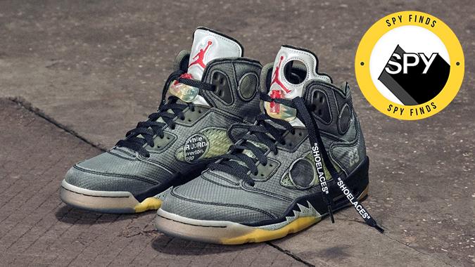 off-white air jordan sneakers