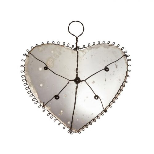 Petit Enfant Heart Mirror - gifts for wife
