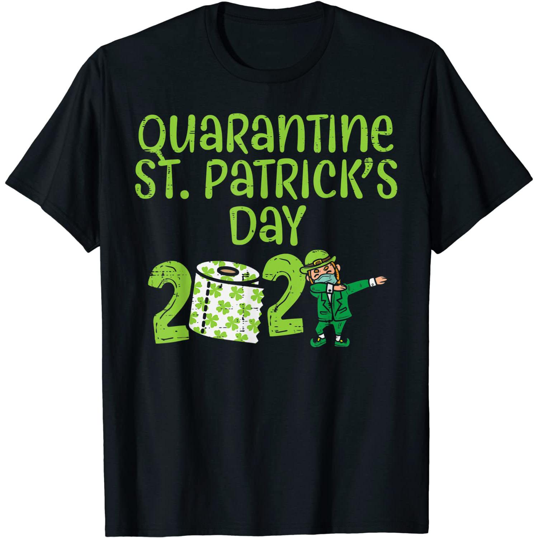 Quarantine St. Patrick's Day Tee