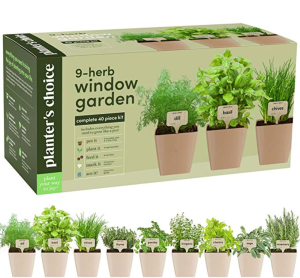 Planter's Choice indoor garden kit