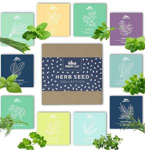 Urban leaf herb seed pack
