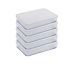 Flat tupperware container