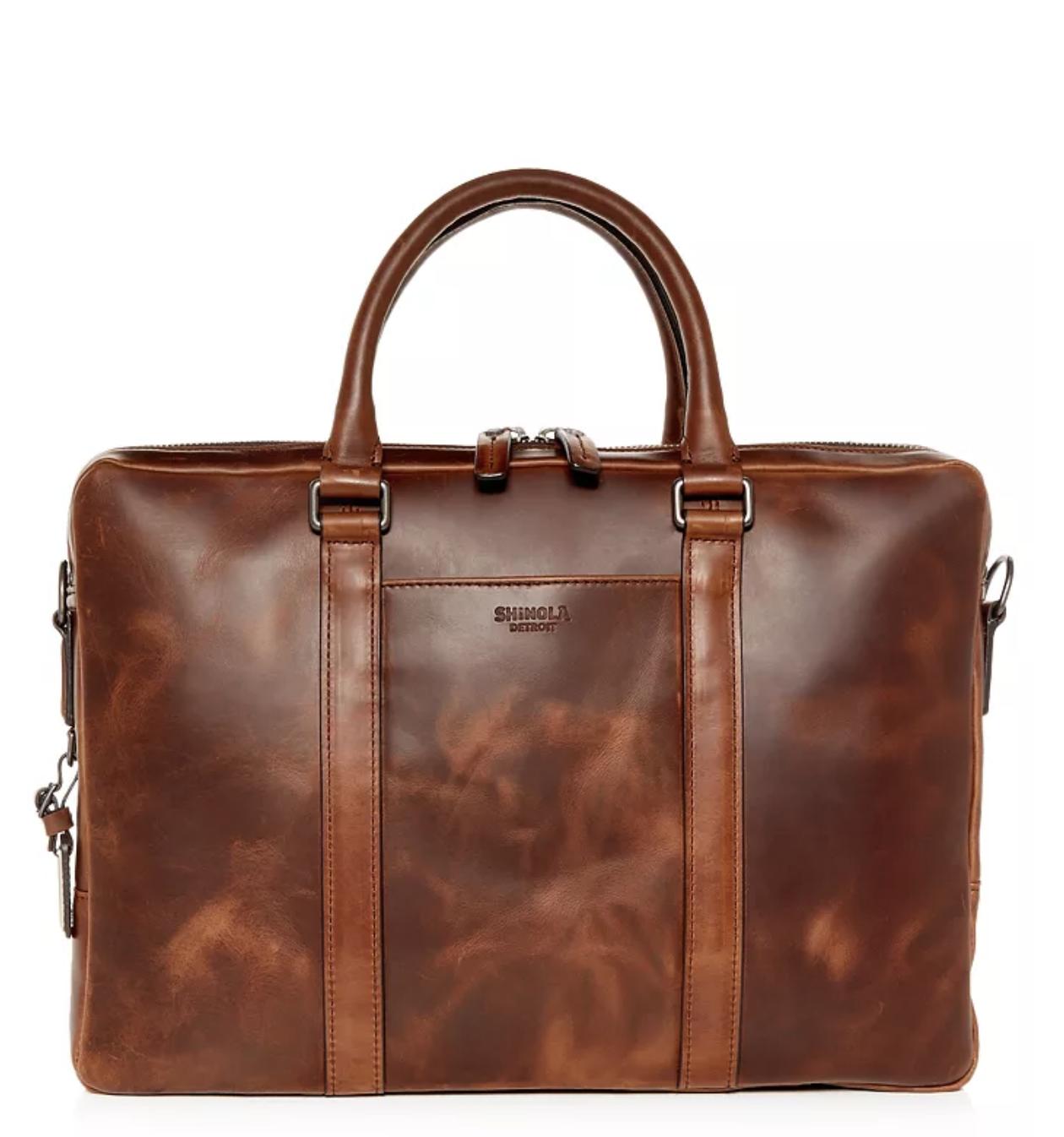 Shinola computer briefcase