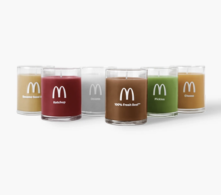 McDonald's Scented Candle Release