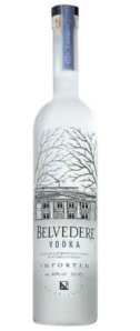 vodka bottle expensive belvedere