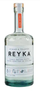 vodka bottle reyka icelandic