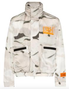 camo jacket mens heron preston