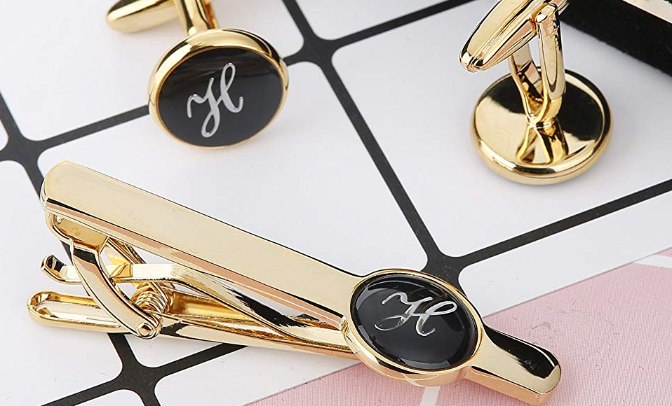 best personalized tie clips