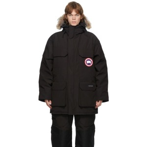 Canada Goose Black Down Expedition Parka