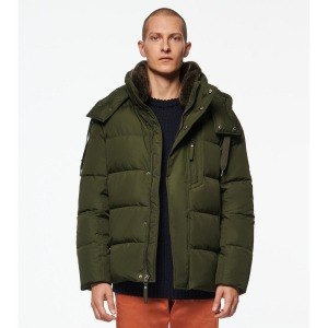 Andrew Marc Amersham Fur-Trim Down Parka