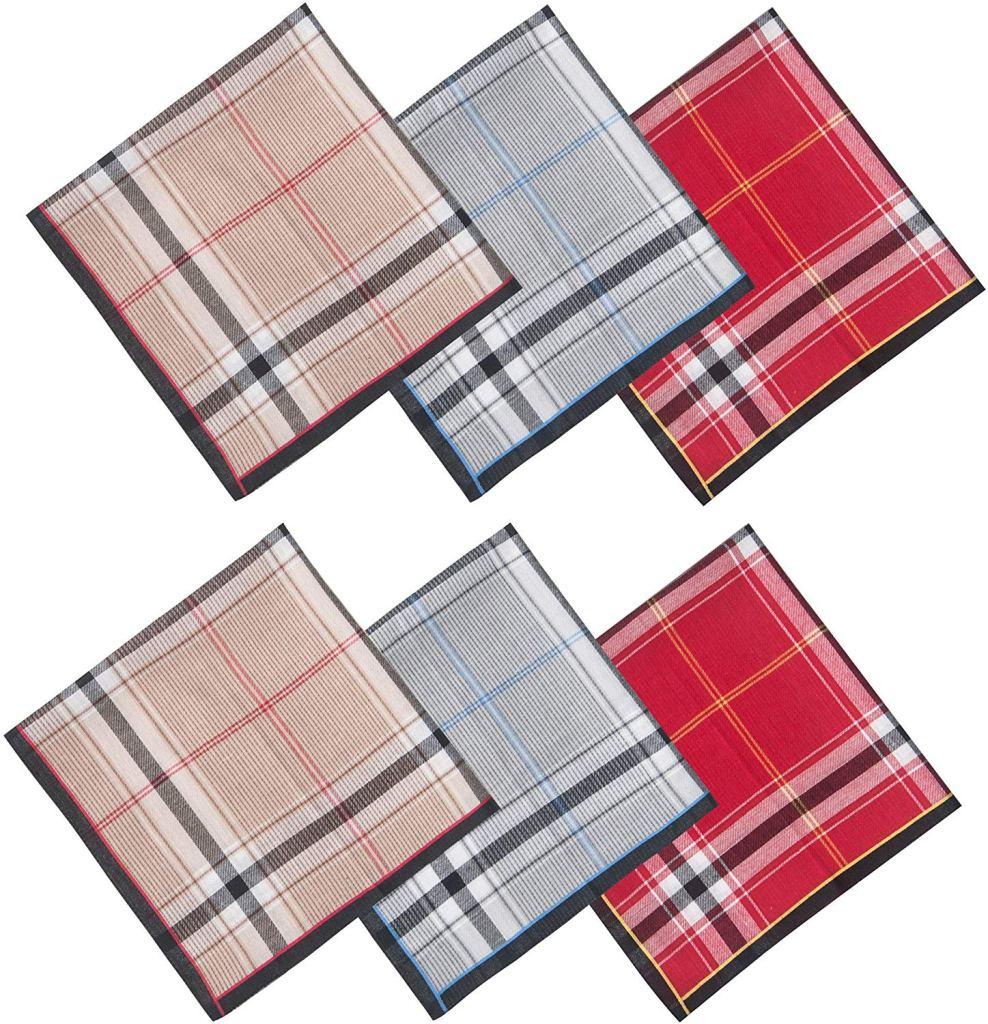 Selected Hanky 100% Cotton Men's Handkerchiefs
