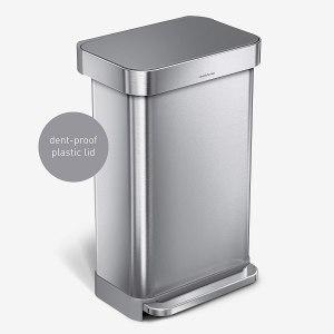 simplehuman 45 liter rectangular