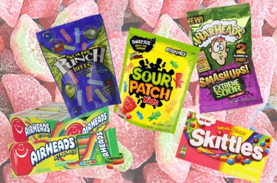sour candy promo