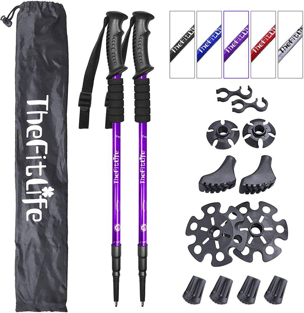 TheFitLife Nordic Walking Trekking Poles
