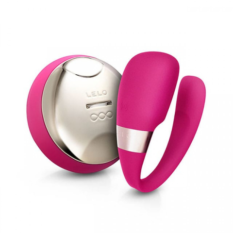 tiani 3 by lelo in pink, best couple's sex toys