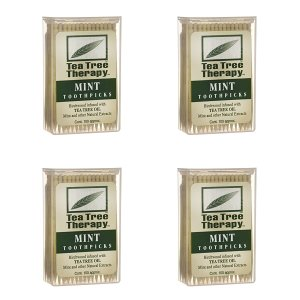 best toothpicks tea tree menthol