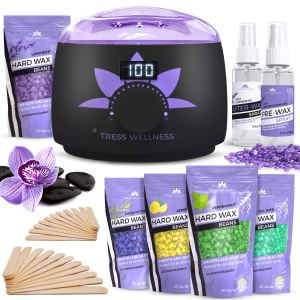 tress wellness wax warmer, home waxing kits