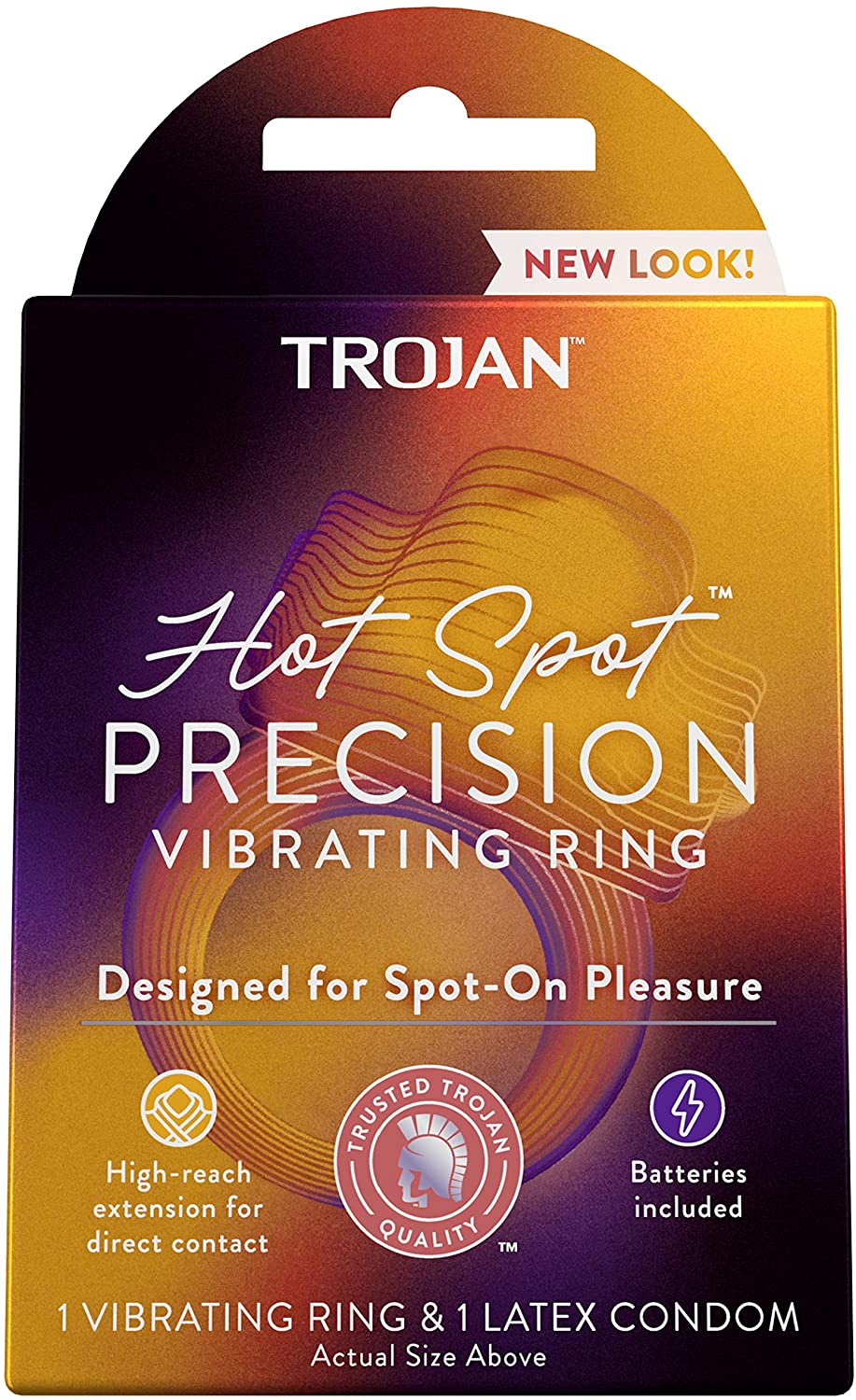 trojan hot spot vibrating rings, best sex toy for couples