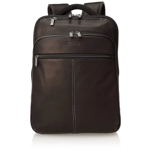leather laptop bag kenneth cole reaction backpack