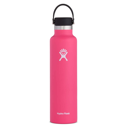 Pink Hydro Flask Standard Mouth Water Bottle