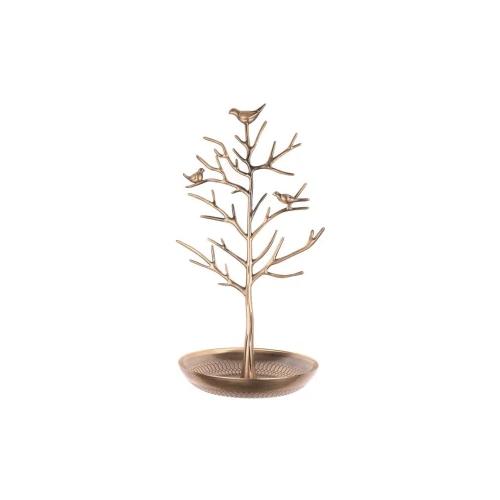 INVIKTUS Silver Birds Tree Jewelry Stand Display
