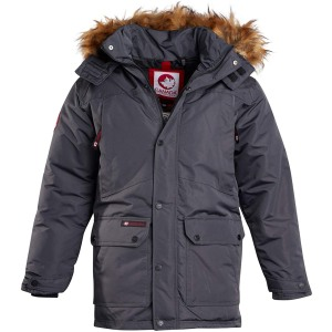 Canada Weather Gear Teflon Canvas Parka Jacket