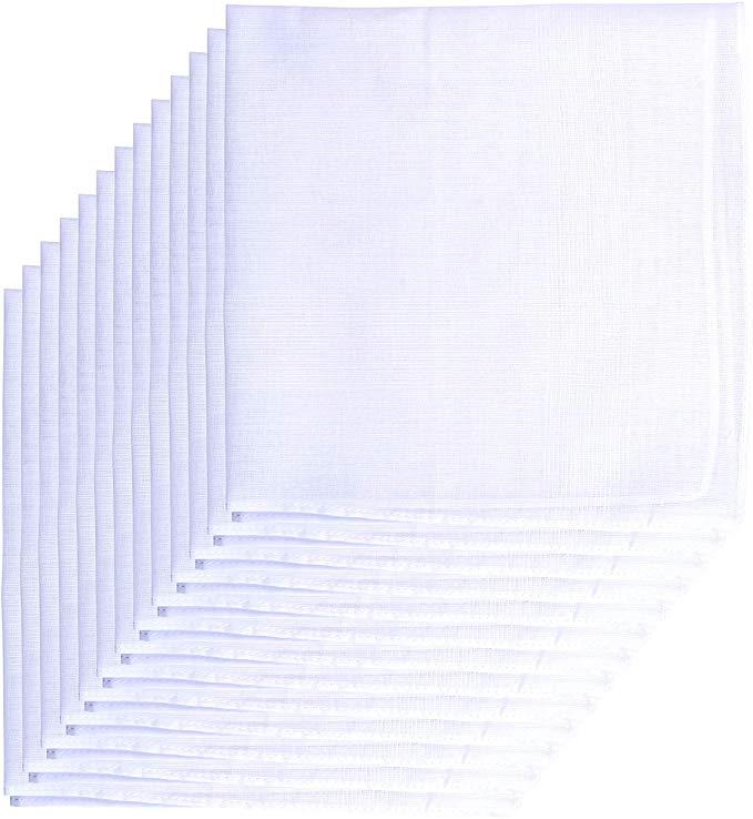 Van Heusen 13 Pack Men's Fine Handkerchiefs