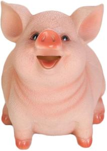 adult piggy banks vosarea resin pig