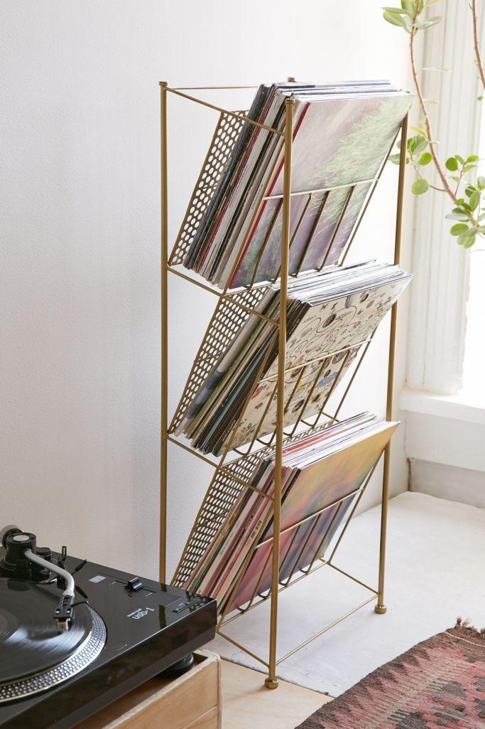 Urban Outfitters Vinyl Storage Rack