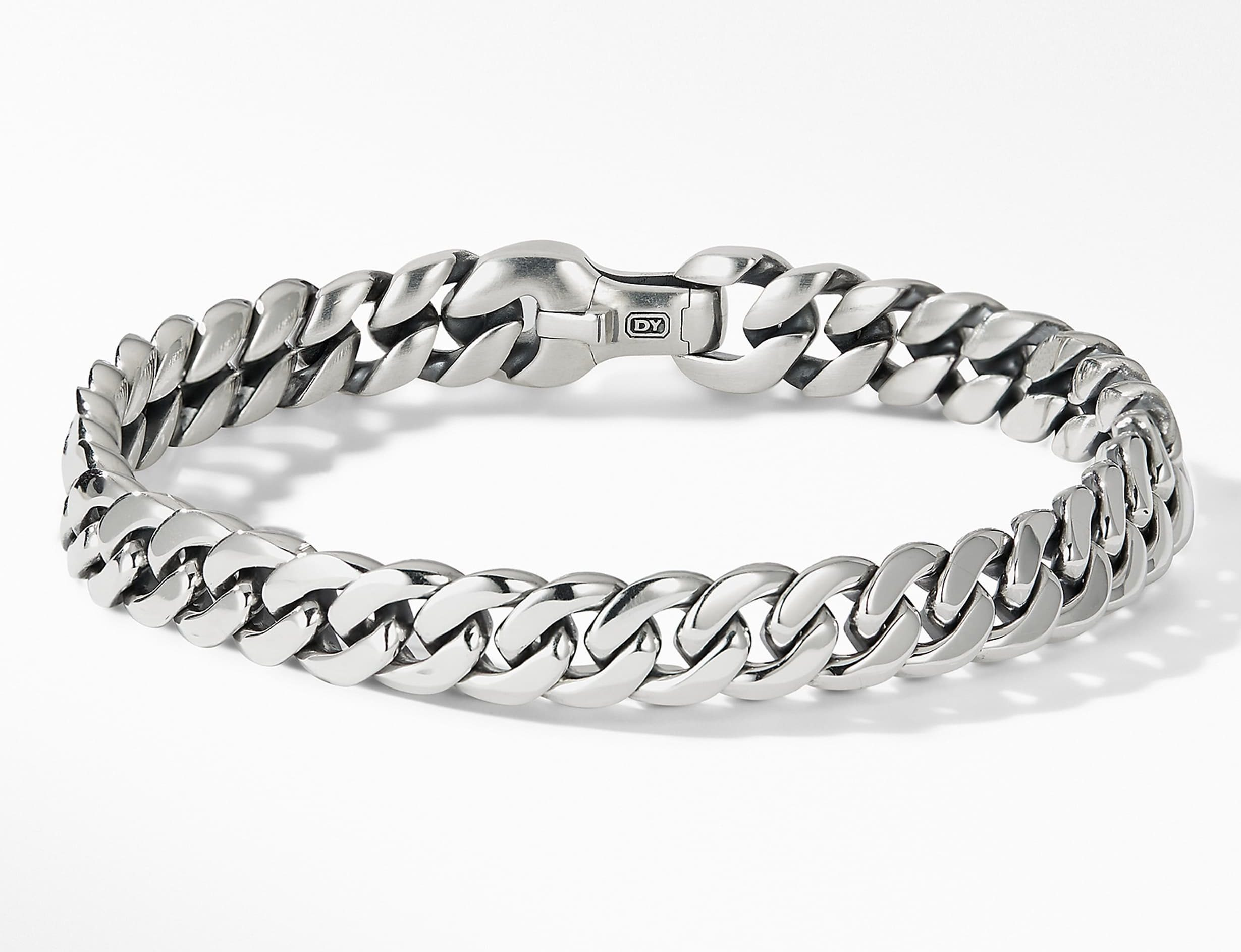David Yurman Curb Chain Bracelet for men