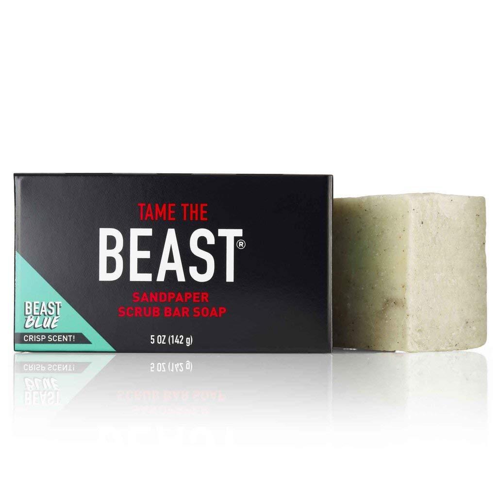 Beast Sandpaper Scrub Bar Soap