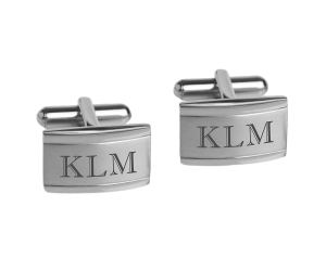 A & L Engraving Personalized Custom Cufflinks