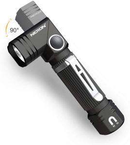 small flashlight swivel head magnet